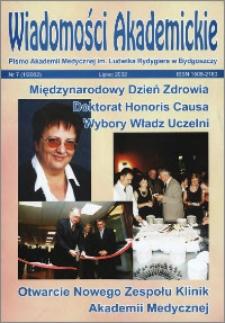 Wiadomości Akademickie 2002 nr 7