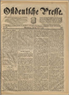 Ostdeutsche Presse. J. 14, 1890, nr 129