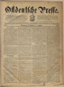 Ostdeutsche Presse. J. 16, 1892, nr 1