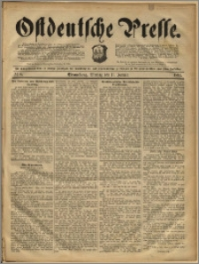 Ostdeutsche Presse. J. 16, 1892, nr 8