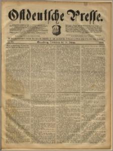 Ostdeutsche Presse. J. 16, 1892, nr 11