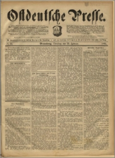 Ostdeutsche Presse. J. 16, 1892, nr 45