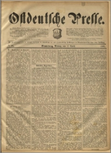 Ostdeutsche Presse. J. 16, 1892, nr 86