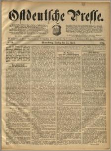 Ostdeutsche Presse. J. 16, 1892, nr 94