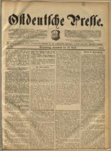 Ostdeutsche Presse. J. 16, 1892, nr 95