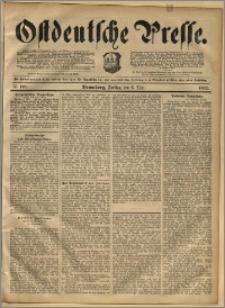 Ostdeutsche Presse. J. 16, 1892, nr 106