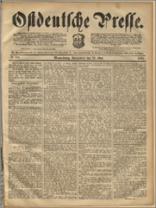 Ostdeutsche Presse. J. 16, 1892, nr 118