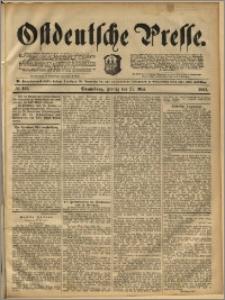 Ostdeutsche Presse. J. 16, 1892, nr 122