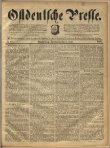 Ostdeutsche Presse. J. 16, 1892, nr 127