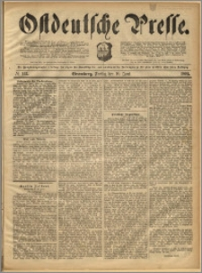 Ostdeutsche Presse. J. 16, 1892, nr 133