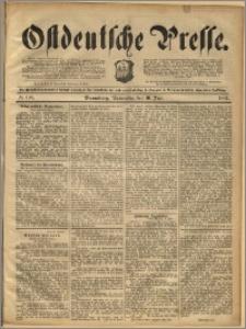 Ostdeutsche Presse. J. 16, 1892, nr 138