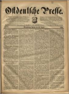 Ostdeutsche Presse. J. 16, 1892, nr 187
