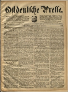 Ostdeutsche Presse. J. 16, 1892, nr 256
