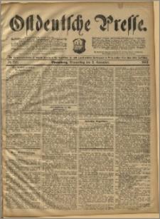 Ostdeutsche Presse. J. 16, 1892, nr 257