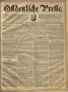 Ostdeutsche Presse. J. 16, 1892, nr 280