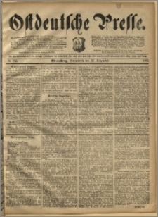 Ostdeutsche Presse. J. 16, 1892, nr 295