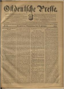 Ostdeutsche Presse. J. 24, 1900, nr 38