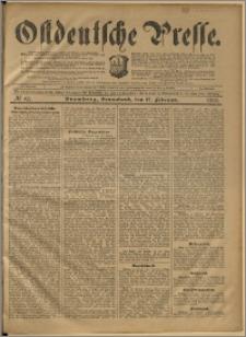 Ostdeutsche Presse. J. 24, 1900, nr 40