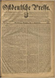 Ostdeutsche Presse. J. 24, 1900, nr 206