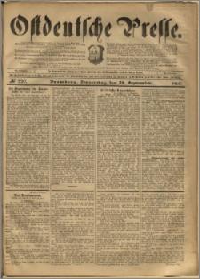 Ostdeutsche Presse. J. 24, 1900, nr 220