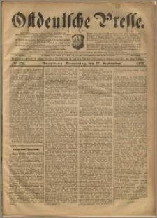 Ostdeutsche Presse. J. 24, 1900, nr 226
