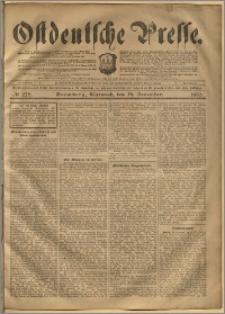 Ostdeutsche Presse. J. 24, 1900, nr 278
