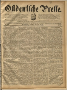 Ostdeutsche Presse. J. 18, 1894, nr 187
