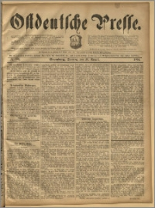 Ostdeutsche Presse. J. 18, 1894, nr 199