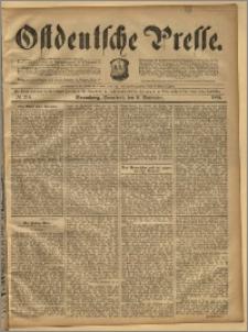 Ostdeutsche Presse. J. 18, 1894, nr 210