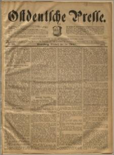 Ostdeutsche Presse. J. 18, 1894, nr 249