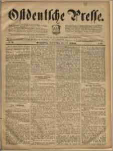 Ostdeutsche Presse. J. 19, 1895, nr 20