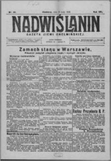 Nadwiślanin. Gazeta Ziemi Chełmińskiej, 1926.05.15 R. 8 nr 39