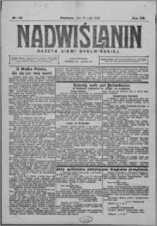 Nadwiślanin. Gazeta Ziemi Chełmińskiej, 1926.05.19 R. 8 nr 40