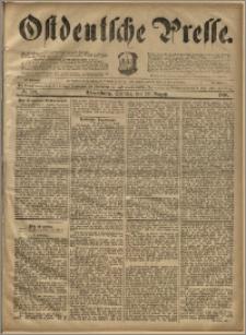 Ostdeutsche Presse. J. 20, 1896, nr 192