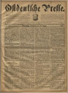 Ostdeutsche Presse. J. 20, 1896, nr 195