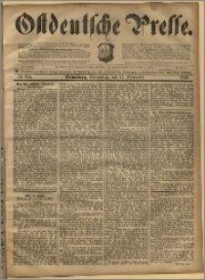 Ostdeutsche Presse. J. 20, 1896, nr 219