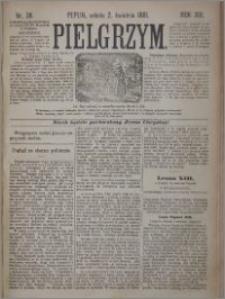 Pielgrzym, pismo religijne dla ludu 1881 nr 38
