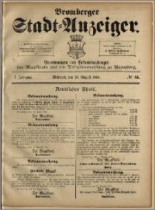 Bromberger Stadt-Anzeiger, J. 1, 1884, nr 41