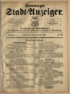 Bromberger Stadt-Anzeiger, J. 1, 1884, nr 58
