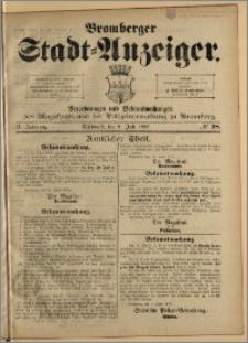 Bromberger Stadt-Anzeiger, J. 2, 1885, nr 28
