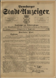Bromberger Stadt-Anzeiger, J. 3, 1886, nr 65