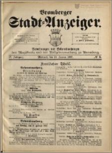 Bromberger Stadt-Anzeiger, J. 4, 1887, nr 5