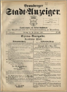 Bromberger Stadt-Anzeiger, J. 4, 1887, nr 17