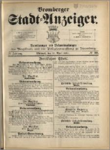 Bromberger Stadt-Anzeiger, J. 4, 1887, nr 30