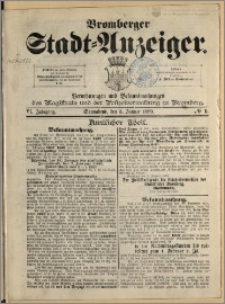 Bromberger Stadt-Anzeiger, J. 6, 1889, nr 1