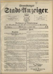 Bromberger Stadt-Anzeiger, J. 6, 1889, nr 6