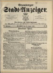 Bromberger Stadt-Anzeiger, J. 6, 1889, nr 7