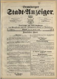 Bromberger Stadt-Anzeiger, J. 6, 1889, nr 8