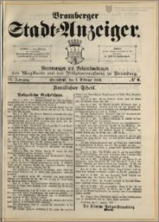 Bromberger Stadt-Anzeiger, J. 6, 1889, nr 9