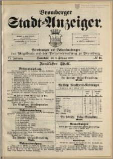 Bromberger Stadt-Anzeiger, J. 6, 1889, nr 11